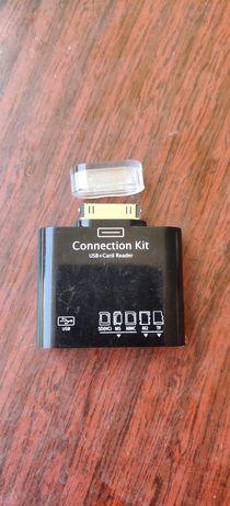 Адаптер Samsung USB+Card reader galaxy tab/note10.1