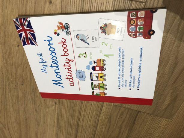 Montesori activity book angielski