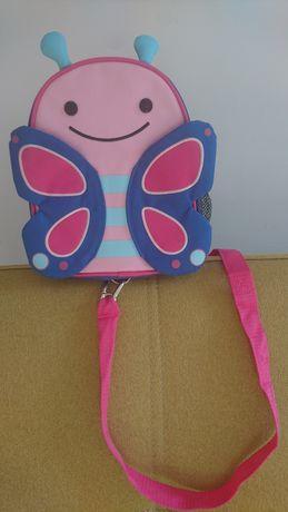 Plecak plecaczek SKIP HOP Baby Zoo motyl motylek jak nowy!