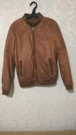 Куртка bershka бершка эко-кожа