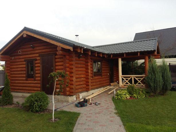 Деревянные дома, срубы, деревянные бани, реставрация домов, герметик