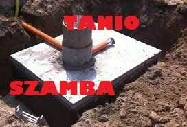 Szambo-Zbiornik betonowy kanał samochodowy piwniczka szamba betonowe