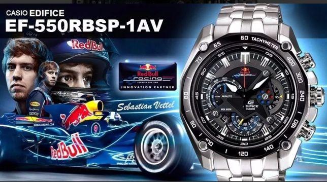 Casio Edifice Ed. limitada Red Bull