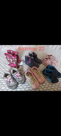 Buciki dla dziewczynki rozmiar 22