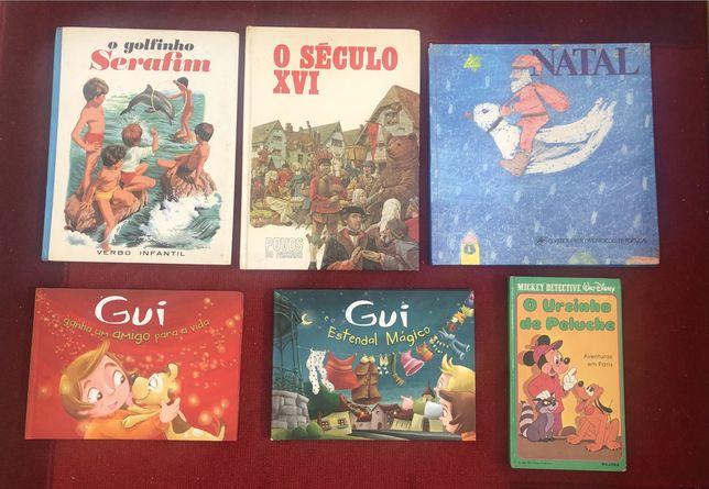 Livros infantis 1€ cada