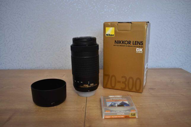 Obiektyw Nikkor AF-P 70-300 1:4.5-6.3G ED
