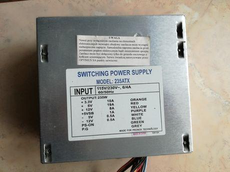 Zasilacz komputerowy 250 wat.