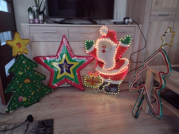 Ozdoby świąteczne bożonarodzeniowe led