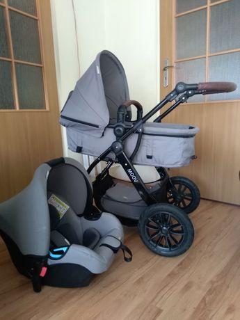 Wózek Kinderkraft 3 in 1 MOOV
