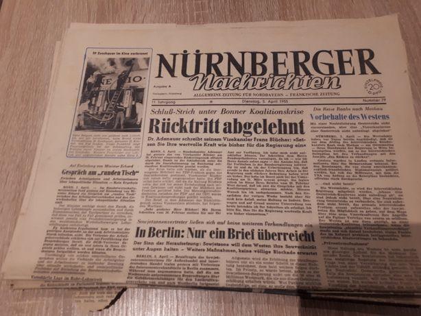 Stare gazety niemieckie