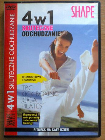 Ćwiczenia odchudzające DVD SHAPE 4 w 1 skuteczne odchudzanie