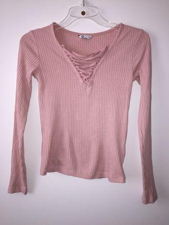 Pudroworóżowa bluzka