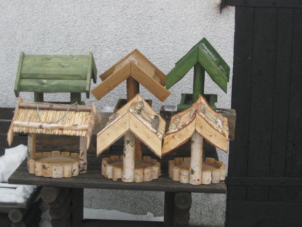Karmniki dla ptaków różne rodzaje