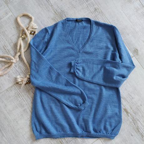 Пуловер женский кофта свитер от Walbusch 100%мериносовая шерсть- L