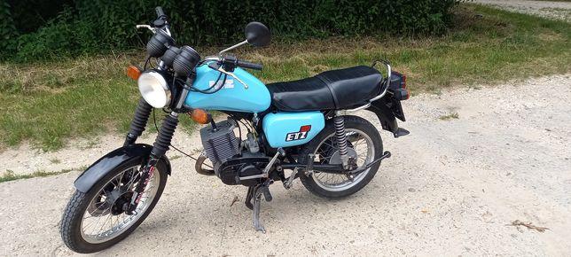 MZ ETZ 125 BDB Stan 1987r Prywatnie Na prawo jazdy Kat.B