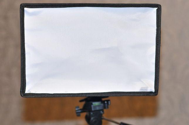 Софтбокс-Рассеиватель для портретной съемки 20*30см С ЧЕХЛОМ НОВОЕ