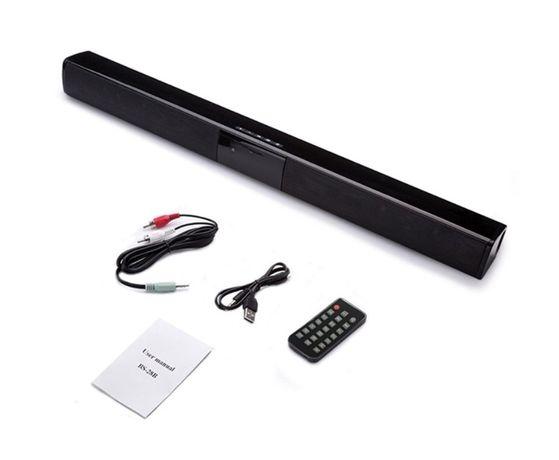 Bluetooth колонка BS-28 на 20(4х5) Ват. Портативный 55 см.