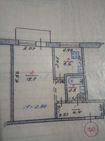 1 комнатная квартира на СевГОКе