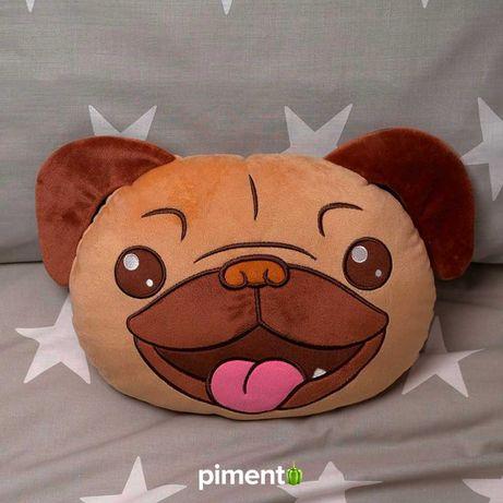 Almofada 3D Pug - Almofadas Decorativas