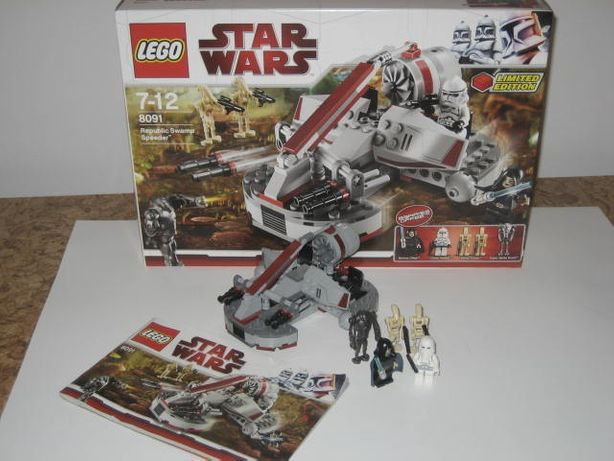 Lego Star Wars 8091 Republika Swamp Speeder