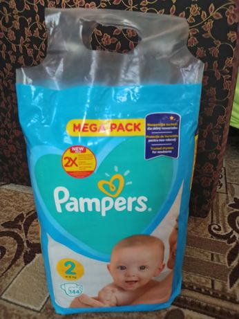 Памперси .pampers mega pack 2 144