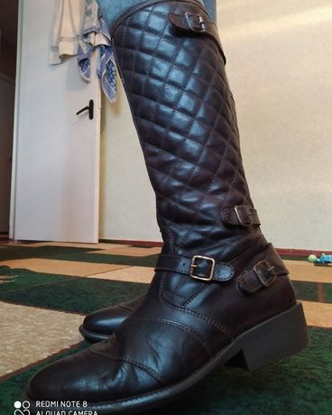 Ботінки осінні/ Сапоги / Ботинки Belstaff кожа / размер 39.