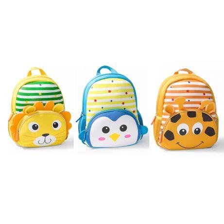Рюкзак для ребенка, мальчику и девочке в садик, животные