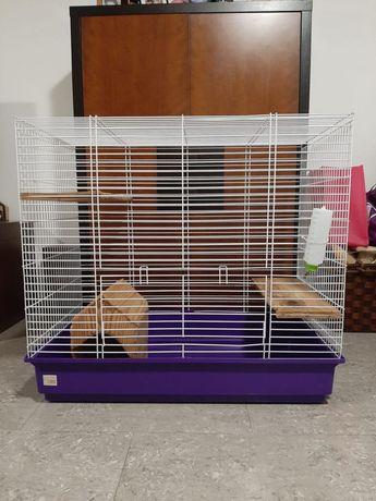 Gaiola chinchila/roedores