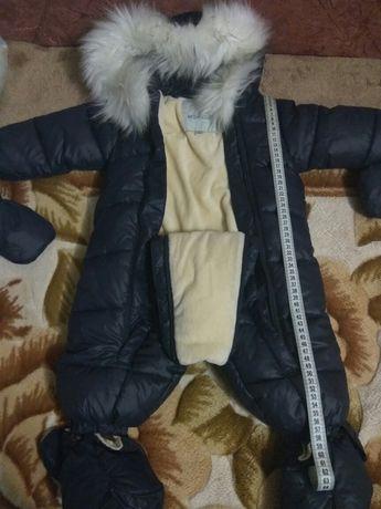 Детский зимний комбинезон (1500 рублей)