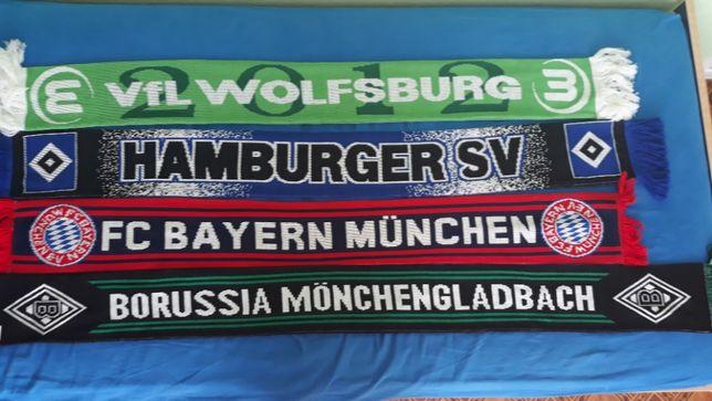 Szaliki Bayern Borussia HSV
