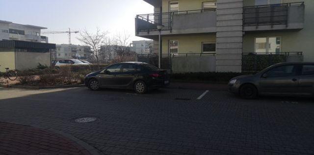 Miejsce postojowe, parking ul. Coopera. Blisko Batalionów Chłopskich