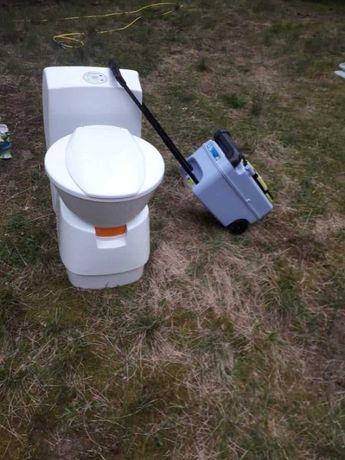 Toaleta do przyczep kempingowych