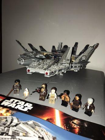 Lego star wars sokół milenium 75105