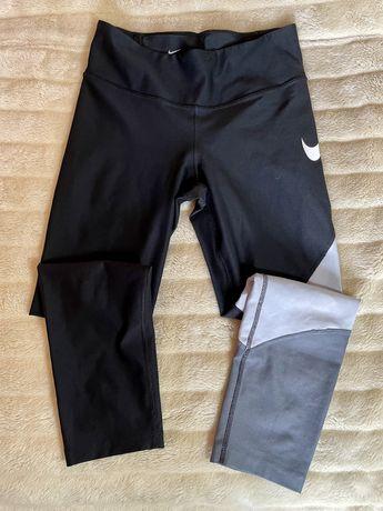 Leggings Nike Power pretas/cinza (S) [ULTIMO PREÇO!]