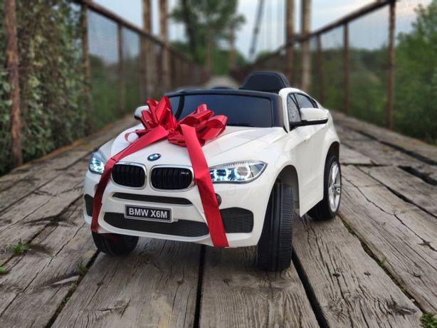 BMW X6 M LIFT 2020r! Nowa wersja autko na akumulator samochód na pilot