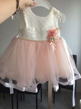 Sukienka oraz sluczne futerko