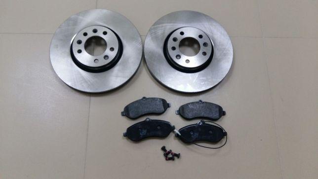 Тормозные диски колодки на Renault Trafic Opel Vivaro Nissan Primastar