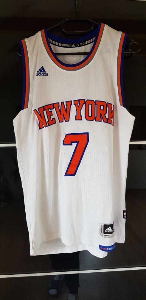 Koszulka Adidas NBA New York 7 Anthony rozm S-M