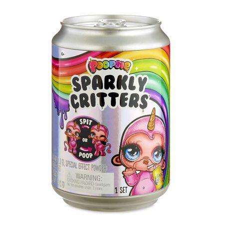 Очаровательный Питомец со слаймом Poopsie surprise Sparkly Critters