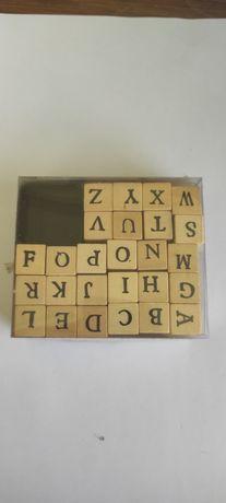 Carimbos de letras