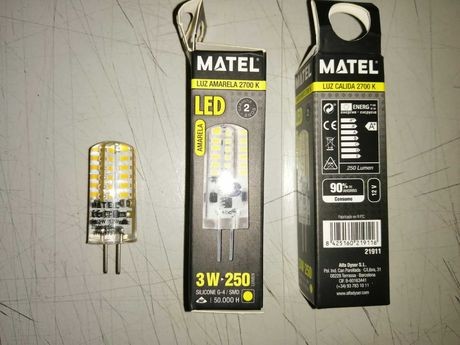 Lâmpadas LED Matel (2 anos de garantia)