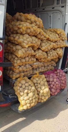 Ziemniaki na zimę z DOWOZEM odmiany Gala, Vineta, czerwone worki 15kg