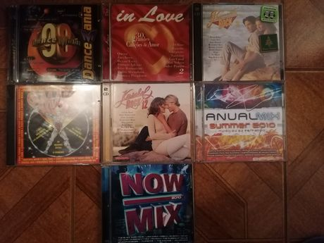 Dance Mania /Maior /in Love /Kuschel Rock /Now Mix /Romantic Rock