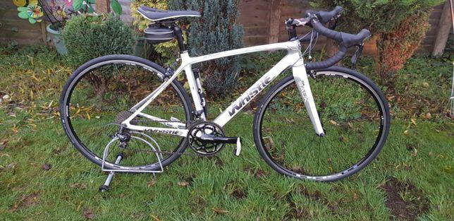 rower szosowy carbon Whistle włoski shimano 105 jak nowy rozmiar 51cm