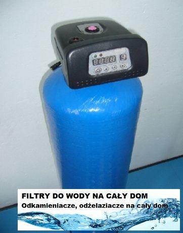 Uzdatnianie odżelaziacz do wody filtr Głowica Automatyczna DOM i OGRÓD