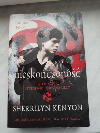 """Książka """"Kroniki Nicka: nieskończoność"""" Sherrilyn Kenyon"""