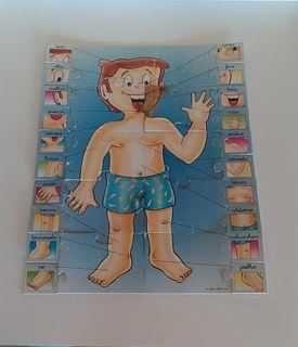 Puzzles didáticos para crianças