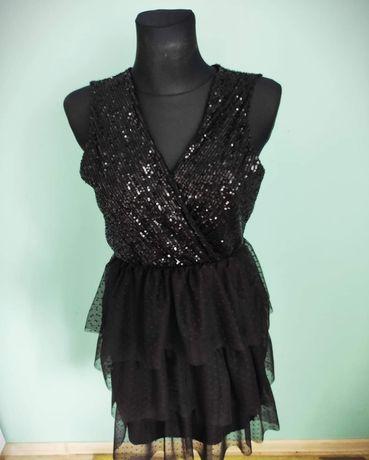 Sukienki cekinowe nowe z wystawy. Wyprzedaż Likwidacja Butiku