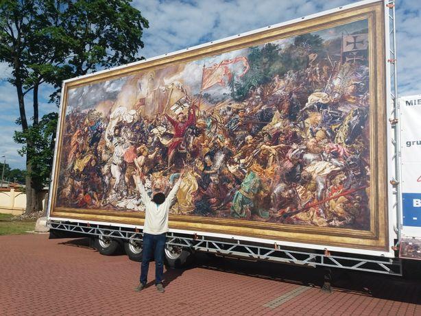 Bitwa pod Grunwaldem - najorginalniejsza kopia w Polsce