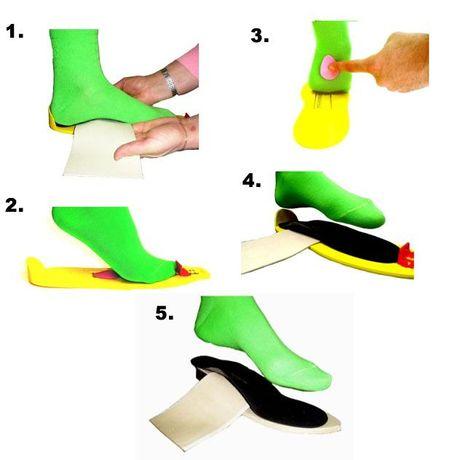 Стельки ортопедические индивидуальные, детская ортопедическая обувь